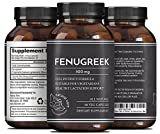 Pure Fenugreek Seed - Best Supplement for Lactating Mothers - Galactagogue Enriches Breastmilk Flow & Production - Nutritious Herbal Formula - For Breastfeeding & Pumping Women - By Natural Vore