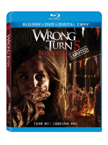 Wrong Turn 5: Bloodlines (Unrated) [Blu-ray]]()