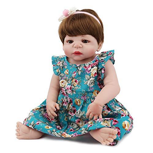 Lovewe Educational Doll,Lifelike Baby Doll 55cm New Doll Kids Girl Playmate Birthday Gift Christmas Gift by Lovewe_Christmas Decor (Image #5)