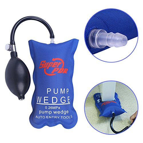 Inflatable Dent Remover Kit - Super PDR 1Pcs Pump Air Wedge Alignment Inflatable Shim Air Cushioned Powerful Hand Tools