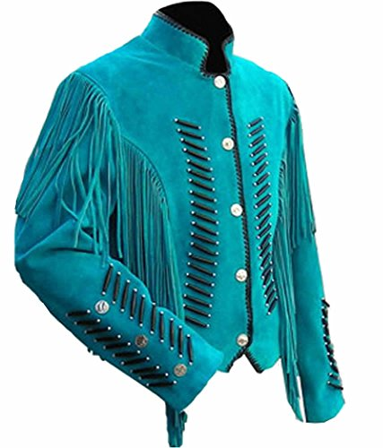 Classyak Women Western Leather Jacket, Fringed, Excellent Quality, Xs-4xl (X-Large)