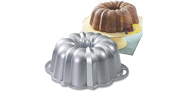 Nordic Ware Molde de Bundt Cake Anniversary fundido anti ...