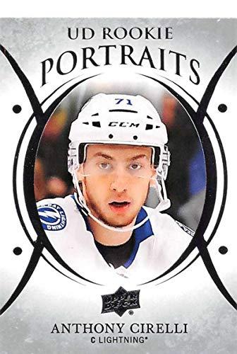 Bay Lightning Tampa Portrait - 2018-19 Upper Deck Portraits #P-96 Anthony Cirelli Tampa Bay Lightning NHL Hockey Trading Card