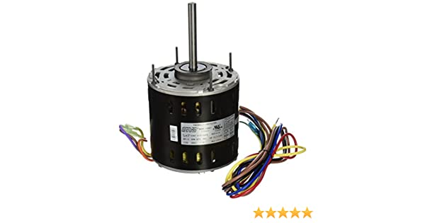 MARS - Motors & Armatures 10587 1/2 hp 115v Direct Drive ... Wiring Diagram Direct Drive Blower Motor Mars on