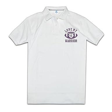 Camiseta de fútbol de I Love My Warrior no 15 Polo: Amazon.es ...