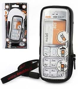 Funda de piel Nokia 6220 Crack