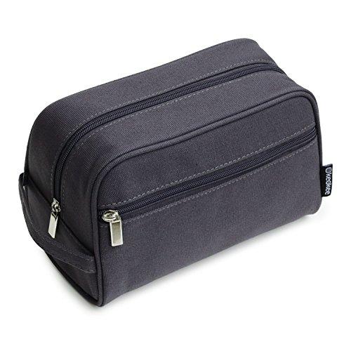 Keokee Canvas Toiletry Bag and Travel Dopp Shaving Kit for M