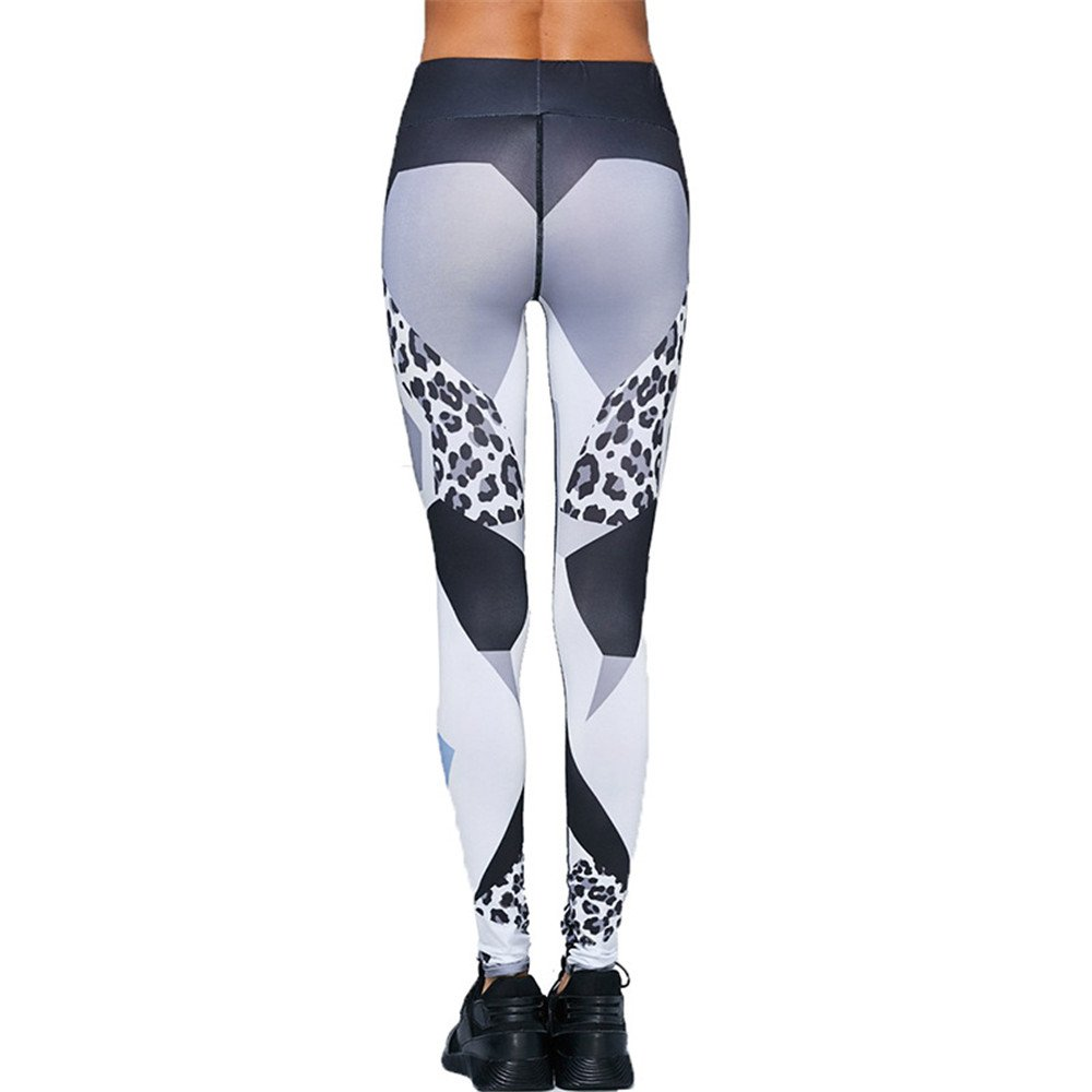 Aszhdfihas Pantalon de Yoga Quatre-Aiguilles Leggings Leggings à Six lobes Femme