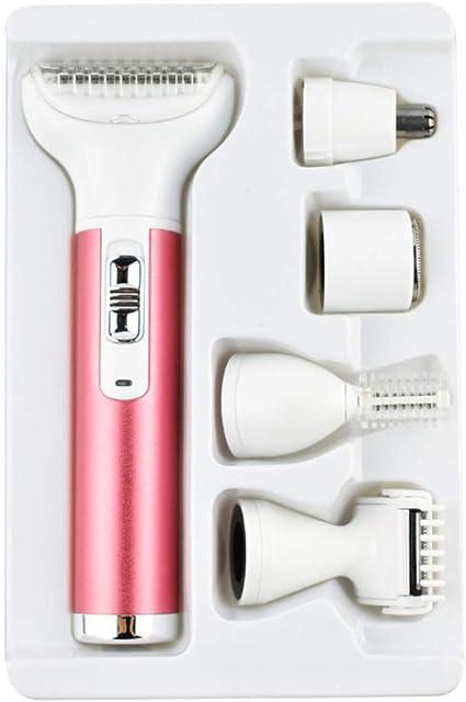 jieGREAT? Afeitadora eléctrica compatible con mujeres 4 en 1 ...