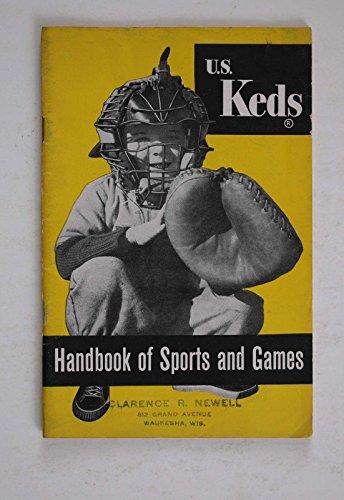 VINTAGE 1950'S U.S KEDS HANDBOOK OF SPORTS AND GAMES BOOKLET ????NICE