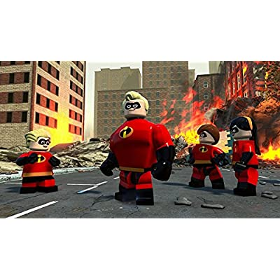 LEGO Disney Pixar's The Incredibles - PS4: Whv Games: Video Games