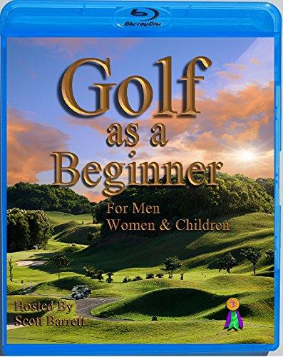 (Blu-ray) Golf As a Beginner Golf Instruction By Scott Barrett