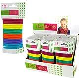 18-Pack Soft Hair Bands 36 pcs sku# 1278746MA