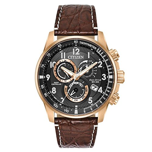 Citizen Eco-Drive AT4133-09E Mens Limited Edition PCAT Chronograph AT Watch ()