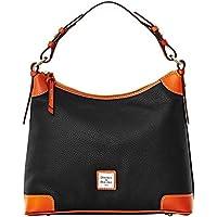 Dooney & Bourke Pebble Grain Hobo Shoulder Bag (Black)