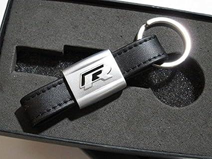 Pinalloy Nueva VW BK R piel llavero llavero para Volkswagen ...