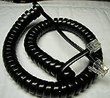 Lot of 10 Black 9' Ft Handset Phone Cords for Nortel Norstar Meridian M Series M7100 M7208 M7310 M7324 M2000 M2006 M2008 M2112 M2216 M2317 M2616 Centrex M5000 M5008 M5009 M5216 M5316 by DIY-BizPhones