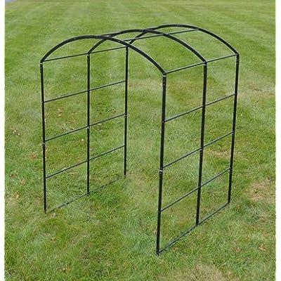 Kinsman Solid Rod Steel Monet Extendable Pergola 7'x5'x5' (7'x5'x5' Pergola): Garden & Outdoor