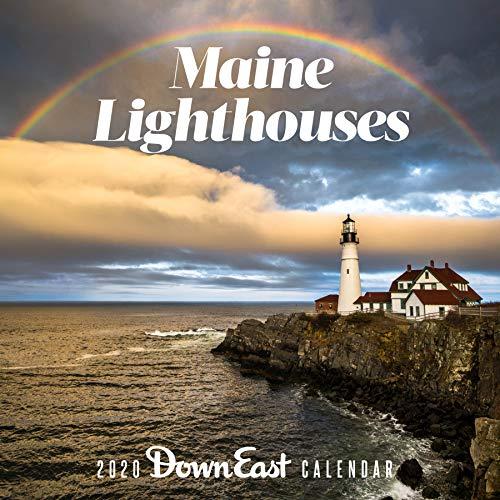 2020   Maine Lighthouses Wall Calendar