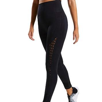 511b5a0be5596 Women New Energy Workout Leggings High Waist Yoga Pants Booty Leggings  Super Elastic Energy Gym Capri