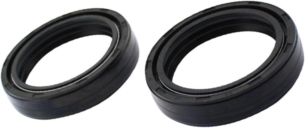 KLX140 KLX 140 KLX140L 2008 2009 2011 2012 Cyleto Front Fork Shock Oil Seal 33 x 46 x 11mm for Kawasaki KX65 KX 65 2000-2009 2011-2013