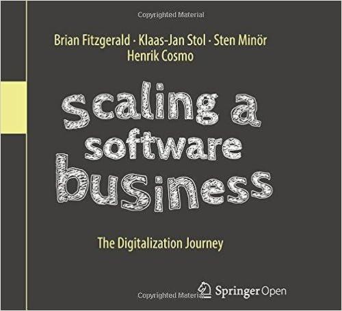 Resultado de imagen de Scaling a Software Business: The Digitalization Journey