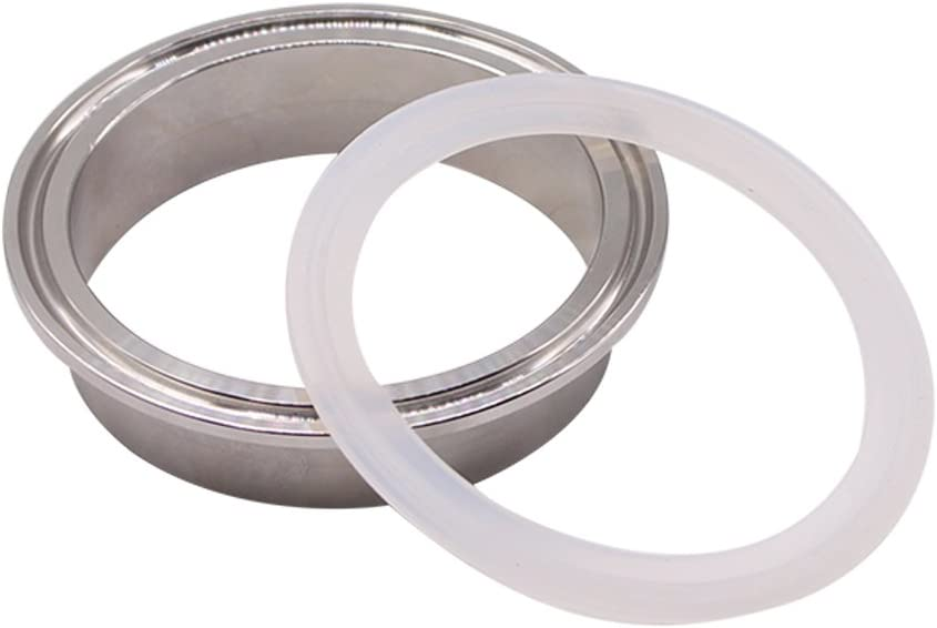 O-Ring Pack of 10 Tri-clamp 2.5 Inch DERNORD Silicone Gasket Tri-Clover