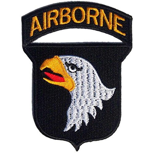 101st Airborne Divisions Screaming Eagle Army Military United States Team Jacket Uniform Patch Sew Iron on Embroidered Badge Sign Costume for Collection with Free Shipping By - Jacket Division Military