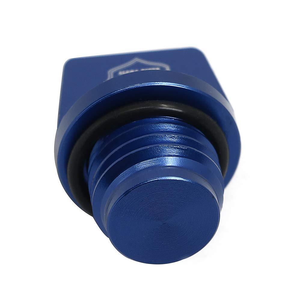 Foruly Oil Fill Cap Plug 16115-018 For Kawasaki KX60 KX65 KX80 KX85 KX100 KX125 KX250 KX250F KX450F KX500 Oil Filler Cap with O-Ring,CNC Aluminum