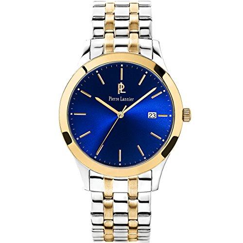 Pierre Lannier Elegance Basic Silver & Gold Men's Watch