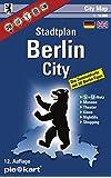 Berlin City 1 : 10.000 Stadtplan: Berliner Innenstadtkarte mit 30 Sightseeing-Tipps, S- und U-Bahn-Plan, Museen, Theater, Shopping- und Nightlife-Tipps