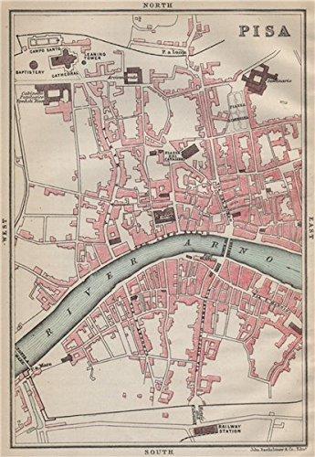 1890 Antique Map - 3