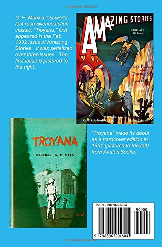 Troyana by S. P. Meek science fiction and fantasy book and audiobook reviews