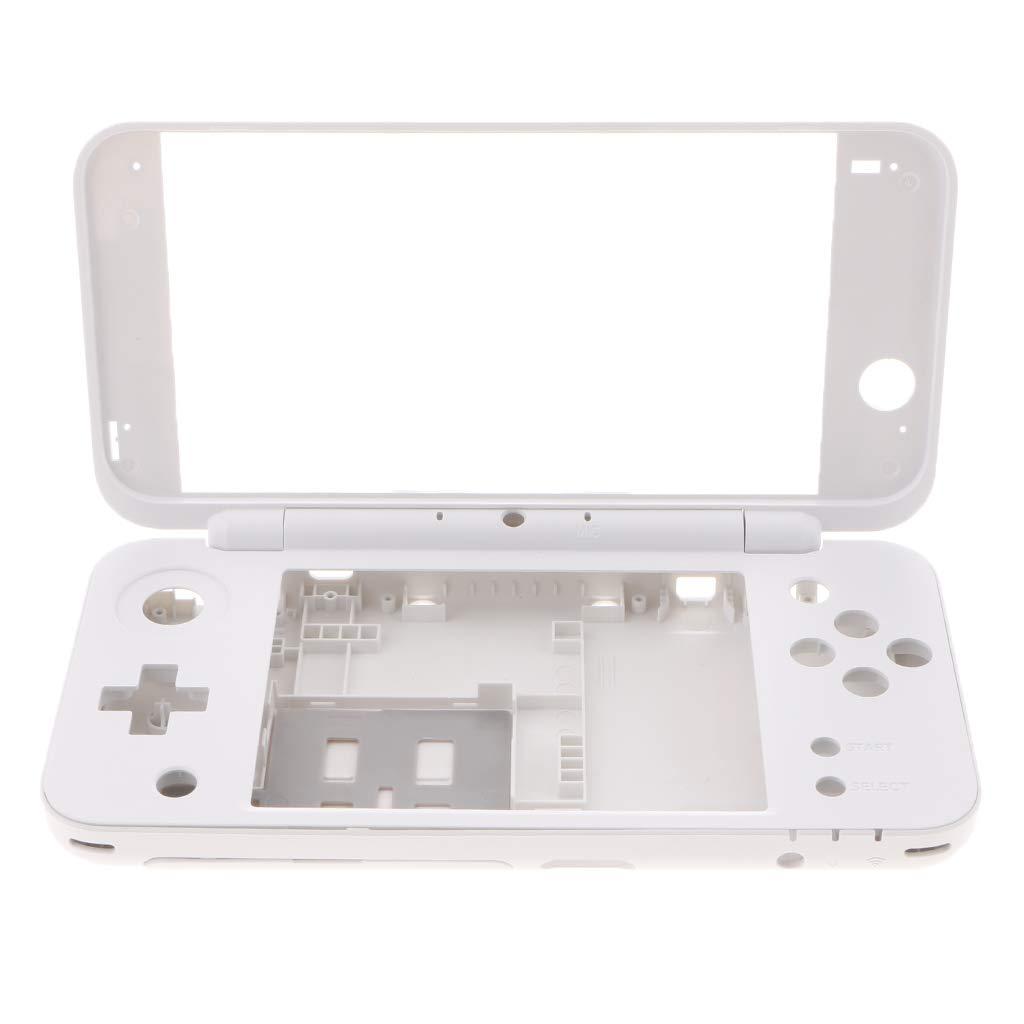 P Prettyia Caja de Carcasa de Consola, Kit de Carcasa Compatible con Nintendo 2DS XL / 2DS LL