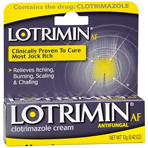 Lotrimin Lotrimin Af Antifungal Jock Itch Foot Cream, 0.1 oz