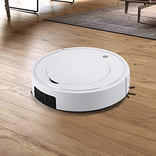 Robot aspirateur kashyk - Chargement USB - Fonctionnement silencieux - Aspirateur robot pour sols durs, tapis, carrelage, stratifié, poils d\'animaux - Aspiration directe