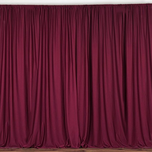 (lovemyfabric 100% Polyester Window Curtain/Stage Backdrop Curtain/Photography Backdrop 58
