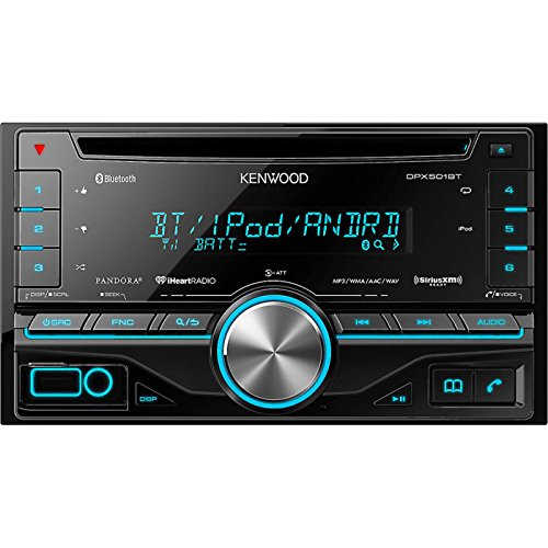 Kenwood DPX501BT 2 DIN Receiver Bluetooth