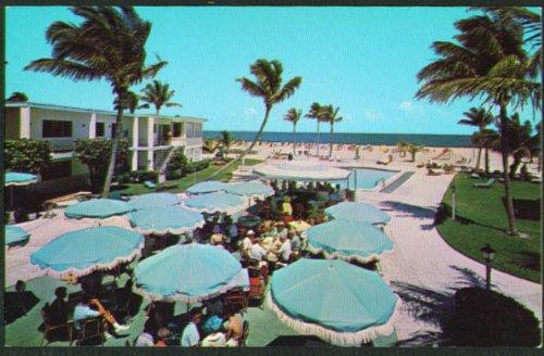 Lago Mar Resort Ft Lauderdale FL postcard 1960s