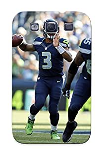 Durable Seale Seahawks Nfl Football Back Case/cover For Galaxy S3