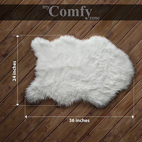 My Comfy Zone Sheepskin Faux Fur Chair Cover/ Rug /Seat