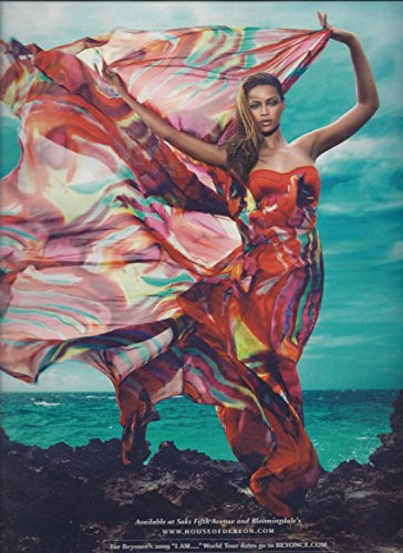 --PRINT AD-- With Beyonce For House of Dereon Dresses 2009PRINT AD - Dereon Dress