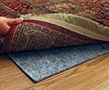 9' X 12' Ultra Plush Non-Slip Rug Pad for Hard Surfaces and Carpet