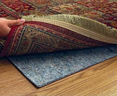 9' X 12' Ultra Plush Non-Slip Rug Pad for Hard Surfaces and Carpet by CraftRugs