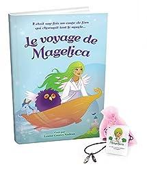 Le Voyage de Magelica Ensemble Cadeau Livre et Collier