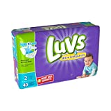 Health & Personal Care : Luvs Ultra Leakguards Diapers Size 2 40 Count (2 Packages)