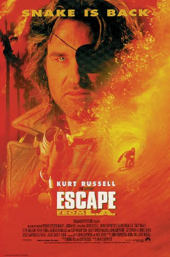 Escape From L.A Movie Poster Regular Style