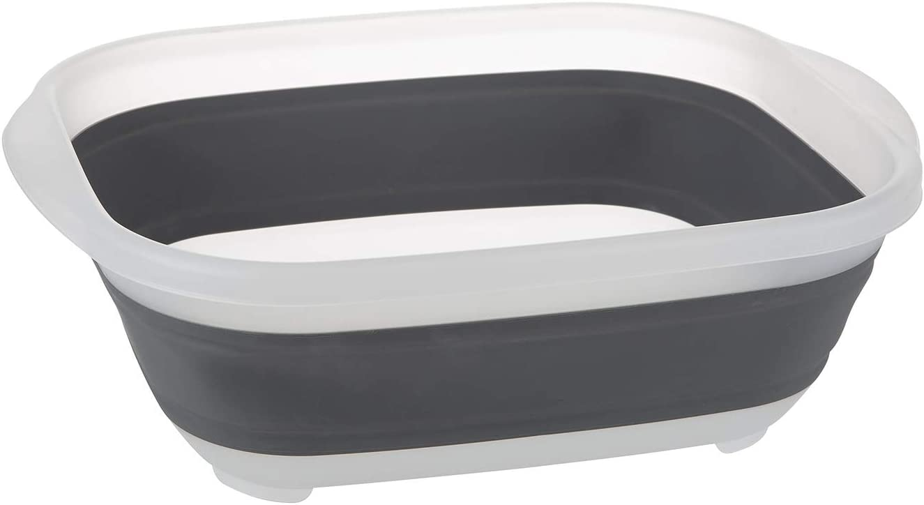 PrepWorks Large Collapsible Tub, Gray