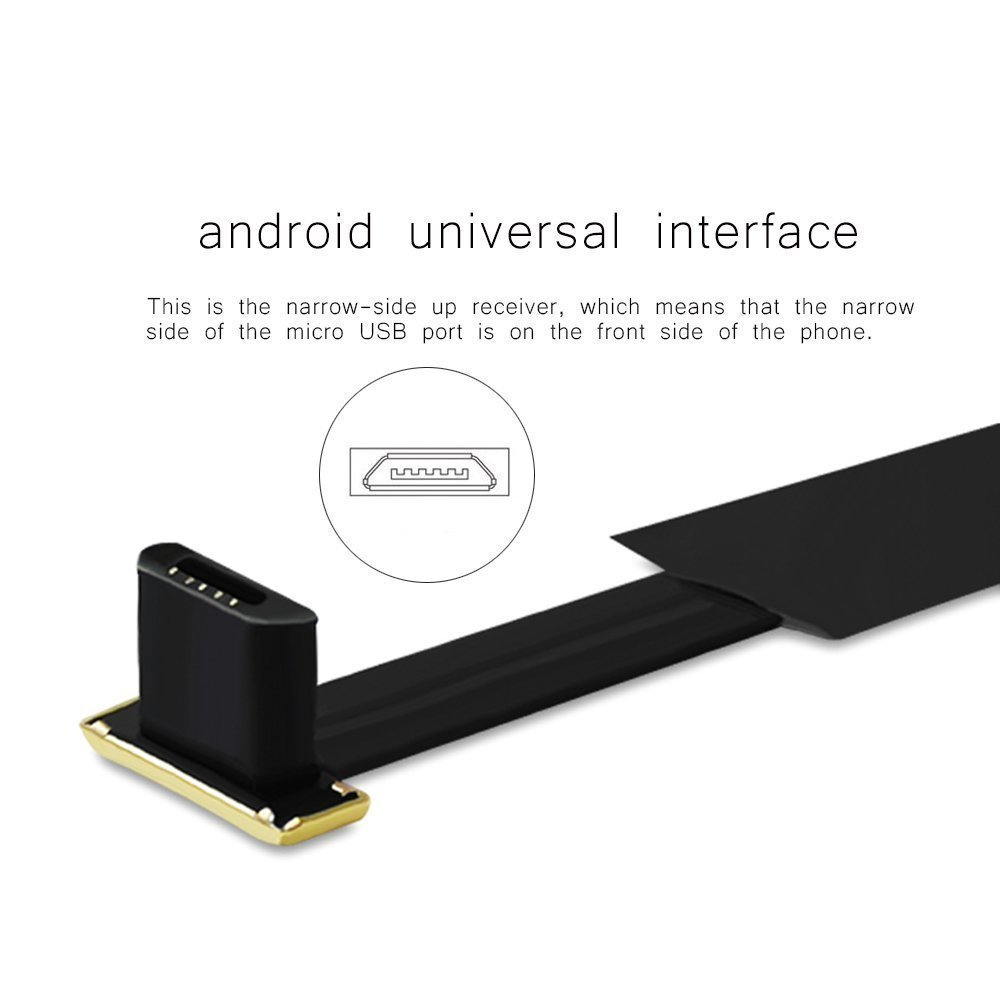 Amazon.com: VONOTO Android Wireless Charging Receiver, Universal Qi Wireless Charger Receiver Film Patch Module for Android Micro USB Narrow Interface Up ...