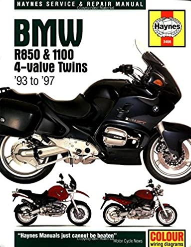 haynes maintenance and repair manual for bmw r850 1100 4 valve rh amazon com Motorcycle Wiring Supplies Motorcycle Wiring Harness Diagram